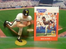 1988 Mike Dunne - Starting Lineup - Slu - Loose With Card - Pittsburgh Pirates
