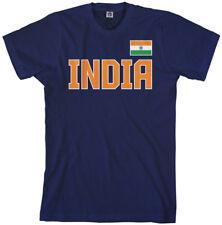 India National Pride Men's T-Shirt Indian Team Flag