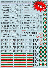 Stampa scala 1/48 iraniano Grumman F-14A tomcats # 48117