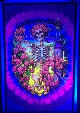 Grateful Dead 30th Anniversary 2011 Vintage Blacklight Poster Rare Original