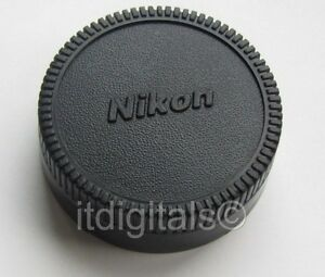 2x Rear Lens Cap For Nikon Nikkor F mount Lenses VR AF DX End Dust Safety Cover