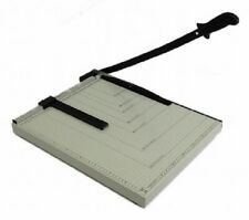 """Paper Cutter 18 x 15"""" inch Metal Base Trimmer Scrap booking Guillotine Blade New"""