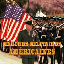 CD Marches militaires américaines / Military music IMPORT