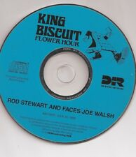 JOE WALSH & ROD STEWART: KING BISCUIT-COMPLETE RADIO BROADCAST 1988] + LOG & ADS