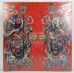 "Vintage (1967) Springbok Jigsaw Puzzle ""Chinese Door Guardians"" UNOPENED"