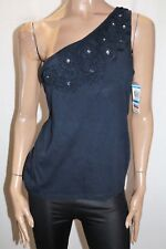 INC International Concepts Brand Blue One Shoulder Tank Top Size XL BNWT #TO44