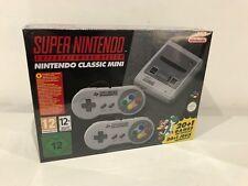 Nintendo Classic Mini SNES: Super Nintendo Entertainment System NEW! SEALED!