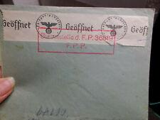 Feldpost 17.12.1941 nach  ???  -  Geöffnet von Dienststelle d. F. P. 36819 FPP
