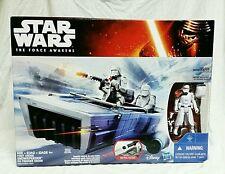 2015 Star Wars The Force Awakens First Order SNOW SPEEDER & SNOW TROOPER OFFICER