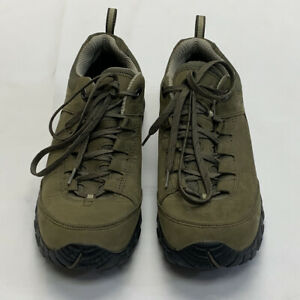 Vasque Talus Trek Low Ultradry Hiking Olive Green Outdoors Mens Shoes SZ 10.5