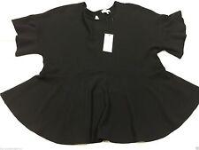 Papaya Waist Length Short Sleeve Tops & Shirts for Women
