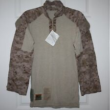 New USMC FROG FR Combat Desert MARPAT Ensemble Shirt ~ Small Regular