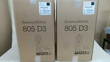 B&W Nautilus 805D3 Speakers  mint boxed