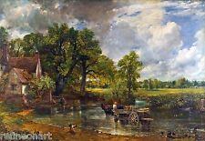 John Constable The Hay Wain Fine Art Giclee Canvas Print