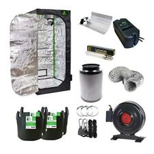 Hydroponics Small Grow Tent Kit 600D Mylar Extraction System HPS Grow Light