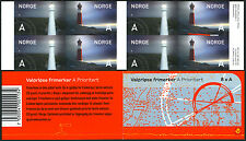 Norway 1442-1443a Complete Booklet, MNH. Lighthouses: Jomfruland, Tranoy, 2005