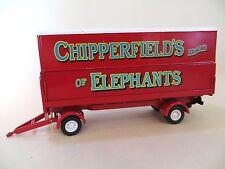CORGI 'CHIPPERFIELDS CIRCUS ELEPHANT TRAILER' 1:50 31902. FODEN. NEW. CLASSICS.