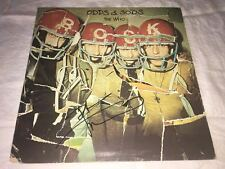 Pete Townshend SIGNED Odds & Sods LP Album The Who PROOF