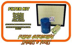 Oil Air Fuel Filter Service Kit for TOYOTA Rukus AZE151R 2.4L 2AZ-FE 2010-on