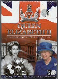 QUEEN ELIZABETH 11 THE DIAMOND JUBILEE COLLECTION 3 DISC BOX SET  NEW SEALED