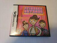 Princess Natasha: Student Secret Agent Nintendo DS 2006 Game EUC
