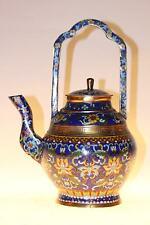 Chinesische Teekanne aus Cloisonné 30cm