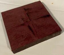 Purpleheart Wood Box Call Blank 6x6x1 Headplates Knife Scales Gun Grips Lumber