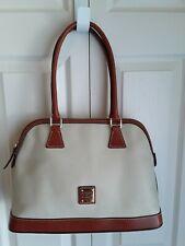 Dooney & Bourke Pebble Leather Shaina Satchel, Purse, Handbag, Bone color