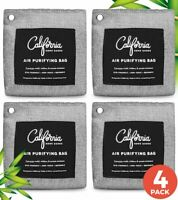 4-Pack 200g Activated Bamboo Charcoal Air Purifying bag Room & Car air freshener