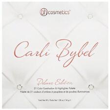 BH Cosmetics Carli Bybel Deluxe 21 Color Eyeshadow Palette 100% Authentic NIB