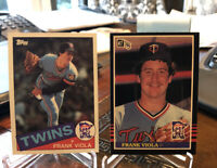 1985 Topps #266 Frank Viola TWINS MINT Plus Bonus Donruss