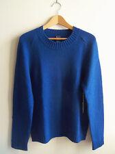 GAP Women's 100% Cashmere Crewneck Sweater, Blue, Size L, NWT