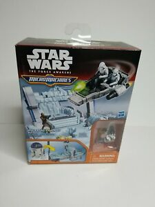 Star Wars: The Force Awakens (Micro Machines) R2-D2, Chewbacca, Microfigure, NEW