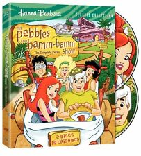 The Pebbles Bamm Show Complete Series DVD Set Cartoon Flintstones Kids Children