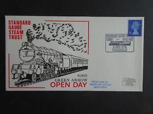 RWC GB Railway Standard Gauge Steam Trust First Day Cover 1973