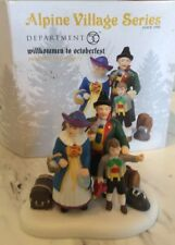Department 56 Alpine Village Willkommen To Octoberfest