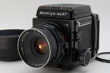【Exc++++】 Mamiya RB67 Pro S w/ C 127mm F3.8 Lens 120 Film Back From Japan #127