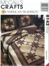 McCall's Crafts 8143 AMERICAN TRADITION Quilt Sewing Pattern Uncut