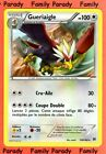 Gueriaigle 100pv 130/162 XY Impulsion Turbo Carte Pokemon Rare neuve fr