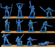 Oliver French Foreign Legion 12 in all 12 poses unpainted 60mm toy soldiers 1995