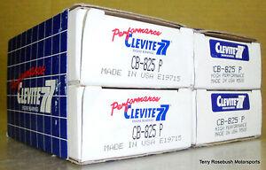 Clevite CB825P SB Chevy CL77 Rod Bearings, Tri Metal, Set of 8