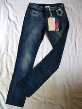 KILLAH by miss sixty BLUE JEANS DENIM w27/l34 regular fit low waist SLIM LEG
