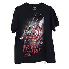 Six Flags Magic Mountain FRIGHT FEST Killer Clown T-Shirt Size Medium