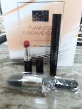 Laura Geller FLAWLESS FUNDAMENTALS 3pc SET Glamlash mascara Lip cranberry crush