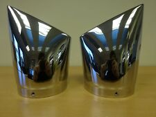 Pure Victory Big Mouth Exhaust Tips Chrome