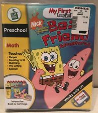LeapFrog My First LeapPad Educational Book: SpongeBob SquarePants Preschool Math