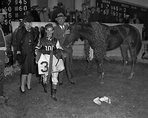 Assault - 1946 Triple Crown Winner, 8x10 B&W Photo