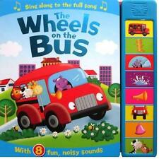 Wheels on the bus sound book  (8 buttons Hardback NEW!!!!)
