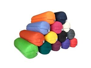 Buckwheat Filled Bolster Yoga Inner Case and Outer Cover