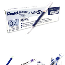 Pentel Refill Ink for Bl57/Bl77 EnerGel Liquid Gel Pen, 0.7mm, Metal Tip, Blu.